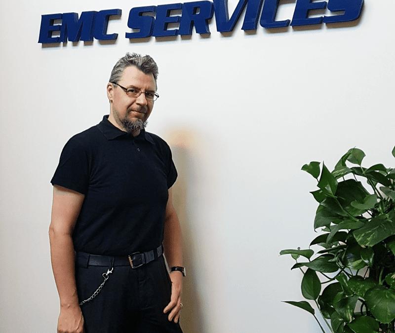 EMC Services har den förste juni anställt en ny provningstekniker