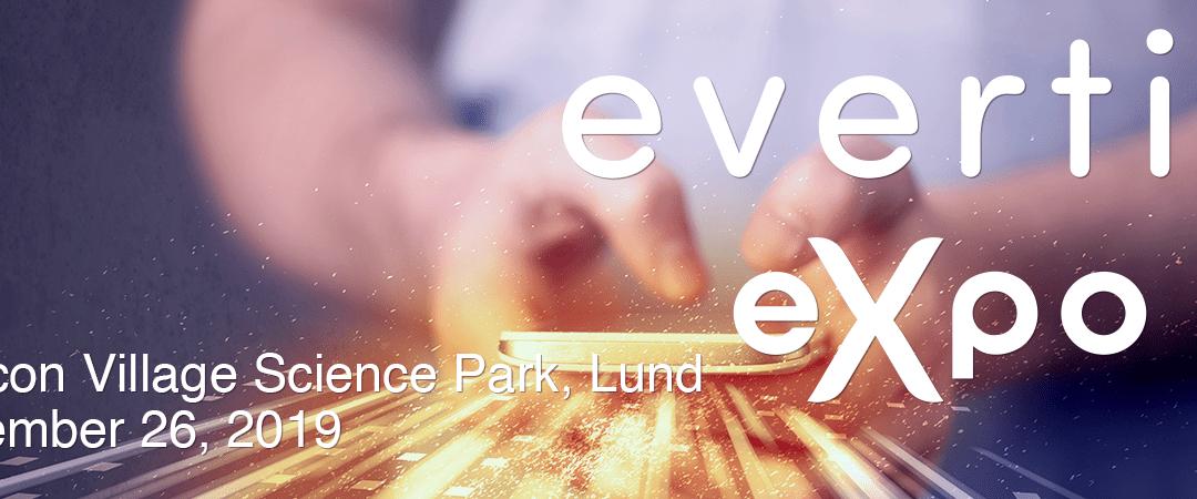 Träffa oss på Evertiq Expo 2019